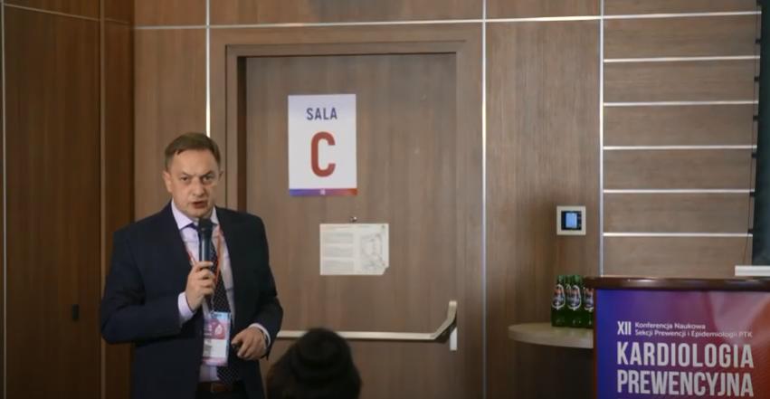 Prof. Jacek Jóźwiak – Częstość występowania dyslipidemii w Polsce i Europie, LIPIDOGRAM, EUROASPIRE