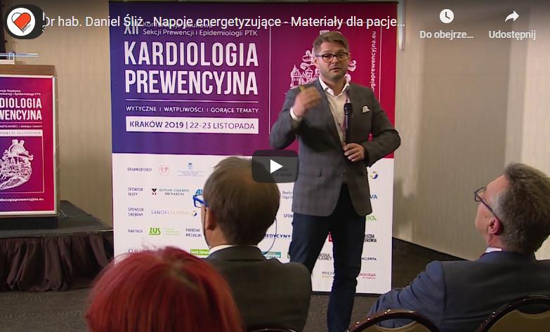 Dr hab. Daniel Śliż – Napoje energetyzujące