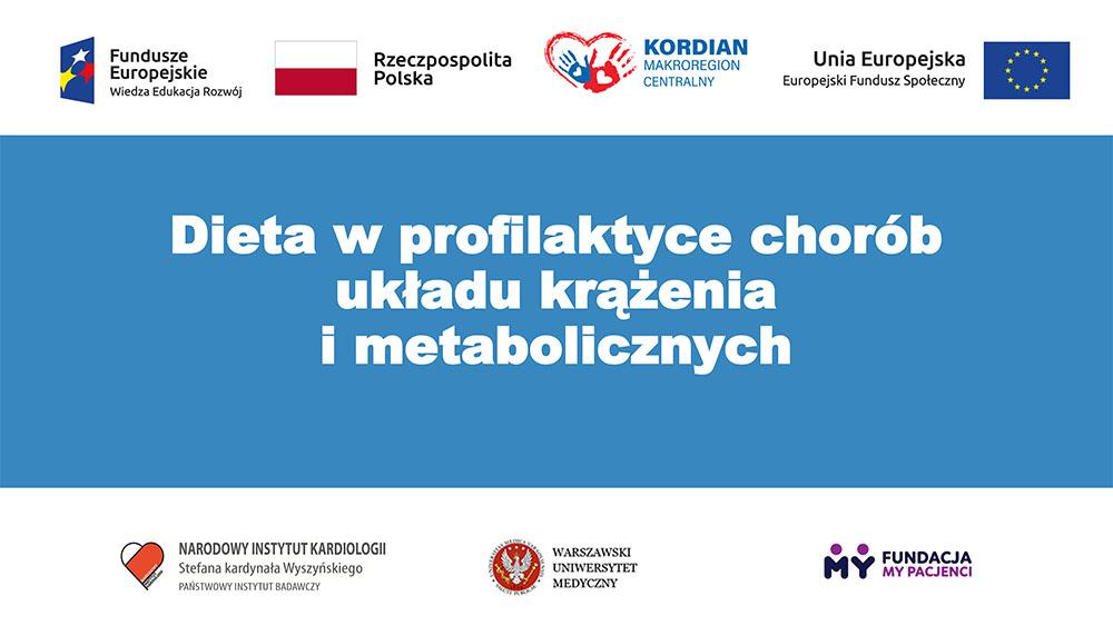 Dieta w profilaktyce chorób układu krążenia i metabolicznych